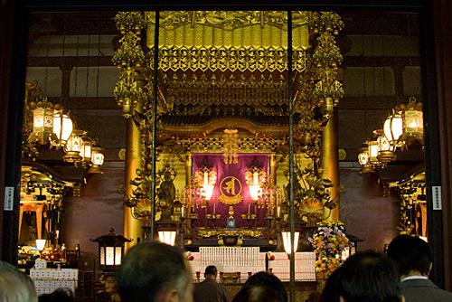 Ana Salon, Sensoji Tapınağı, Tokyo