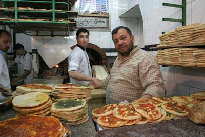 Fırın, Kapalı Çarşı, Halep.