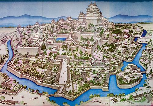 Himeji Kale Kompleksi