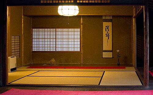 Tapınağın salonlarından birisi.