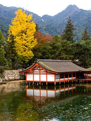 Itsukushima Tapınağı.