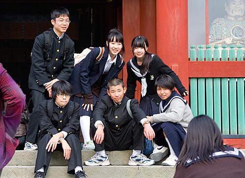 japon-ogrenciler