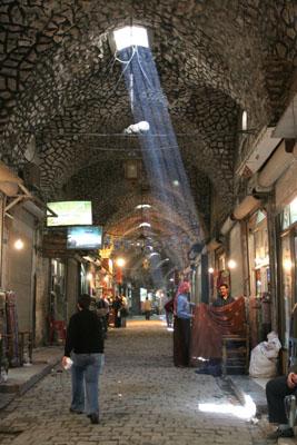 Kapalı Çarşı, Halep.