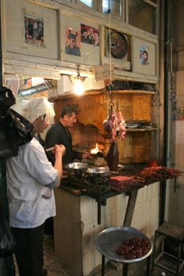 Kebapçı, Kapalı Çarşı, Halep.
