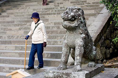 Komai nu, Tsurugaoka Hachimangu Tapınağı, Kamakura