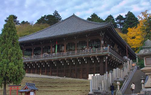Nigatsu-dō tapınağı.