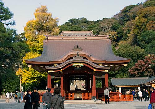 Sahne, Tsurugaoka Hachimangu Tapınağı, Kamakura