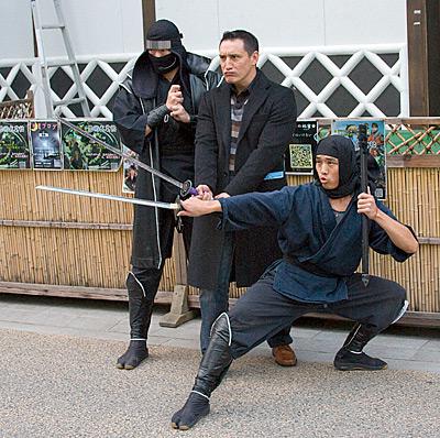 Turistik ninjalar.