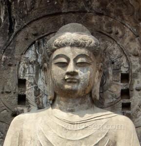 Mona Liza Buda'nın yakından görünüşü