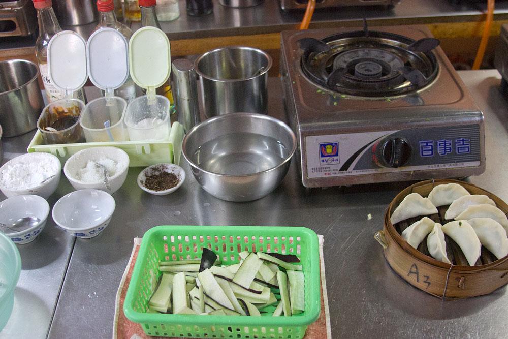 Kursa başlamadan önce malzemeler hazırlanmıştı.